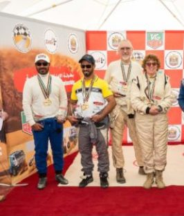 Al Maqoodi (2nd Auto), Al Jafla (1st Auto) and Barkers (3rd Auto)