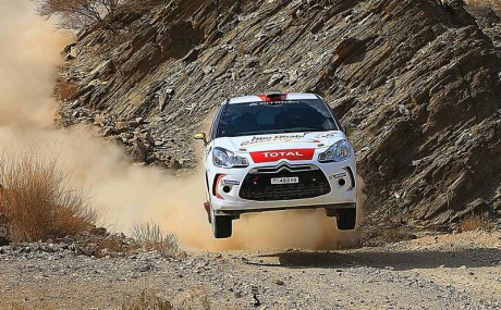 Mohamed Al Mutawaa finished day two, 1st in the class and 5th overall,...