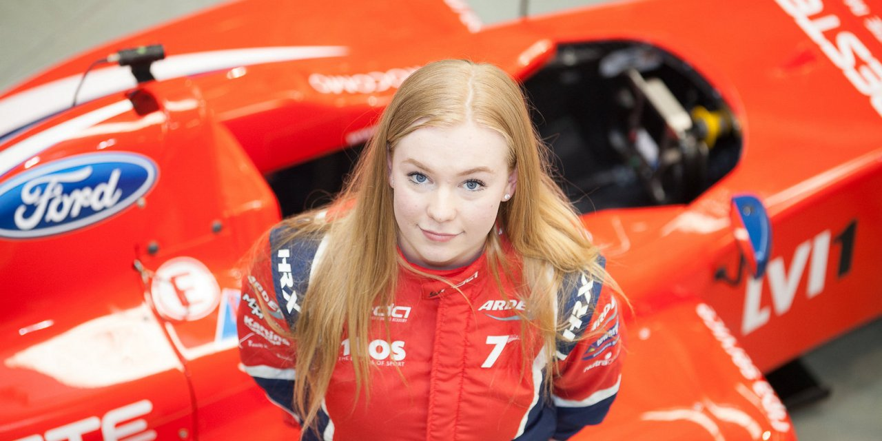 F4: Logan Hannah reflects on a successful few days testing at Croft Circuit ahead of her UK F4 debut