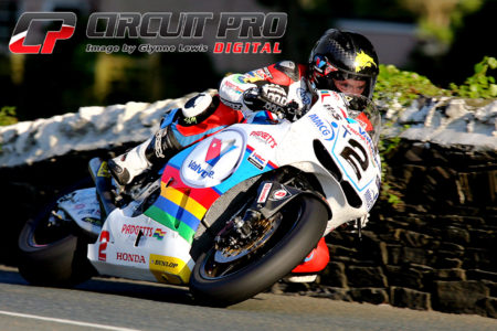 Bruce Anstey will be looking to improve on his 2013 outright lap record