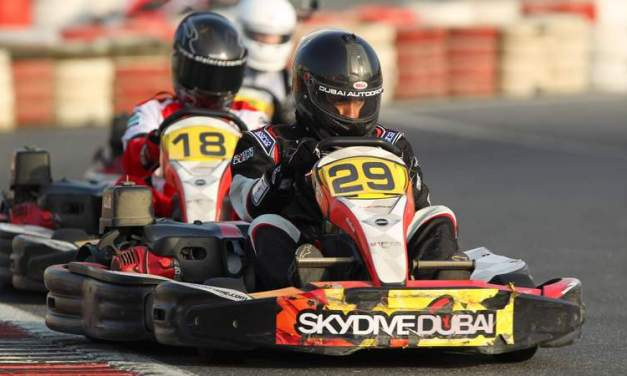 Karting: Dubai Falcons win by twenty seconds at Dubai Kartdrome 700km endurance race