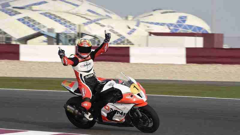 Qatar: Cudlin and Al Naimi to fight for the Qatar Superbike Championship title this weekend in Losail