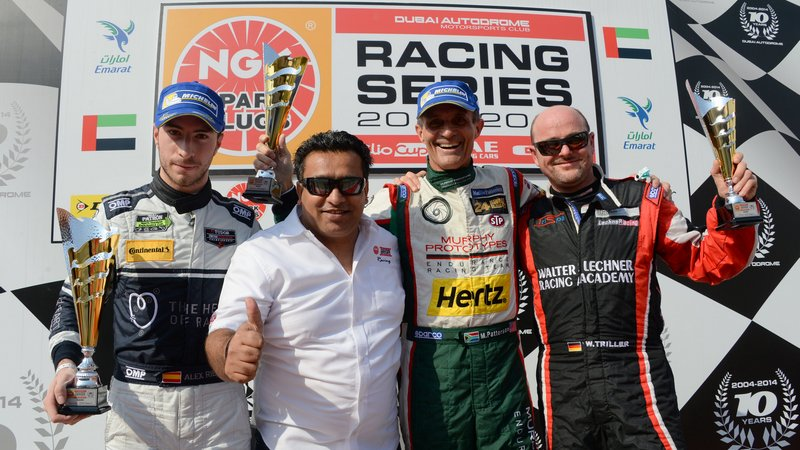 Dubai: Mark Patterson triumphs over impressive field to win NGK Racing Series