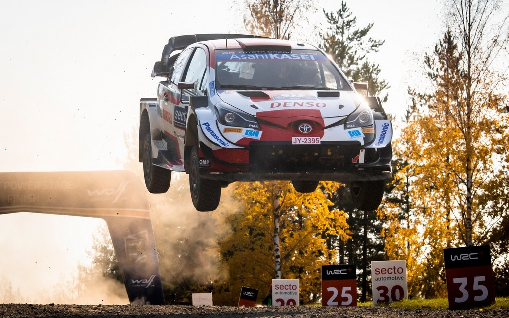 WRC: Flying high in Finland – Elfyn Evans stays in contention for championship