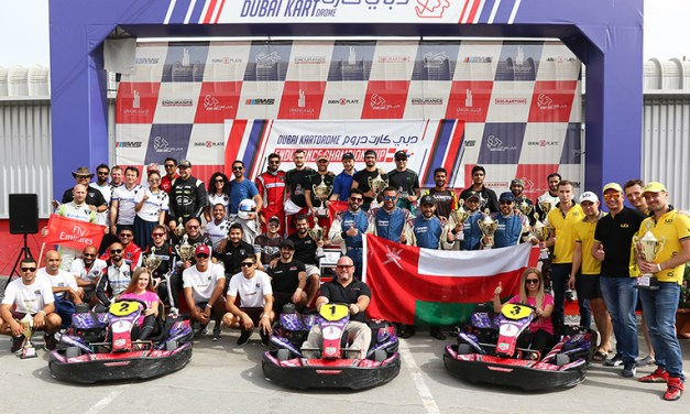 Dubai: Bin Drai Karting Team win by 16 seconds ahead of Emirates Pro team