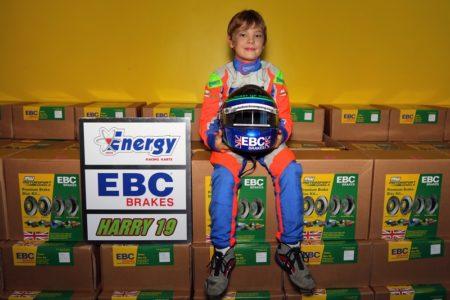 Harry looking forward to the new Rotax Max season ahead