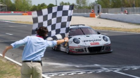 The Porsche 991 GT3 R (#911, Alfred Renauer/Robert Renauer/Daniel Allemann/Ralf Bohn) completed 662 trouble-free laps of the 4.655 km long Spanish circuit to win the Hankook 24H BARCELONA