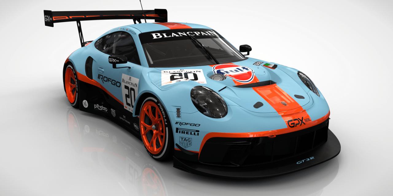 Dubai: Dubai based GPX Racing unveils two car assault on Blancpain GT Series Endurance Cup and 24H Series
