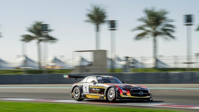 Gulf 12hrs: Team Abu Dhabi Black Falcon 4th in Pro class suffering technical issues in final hours