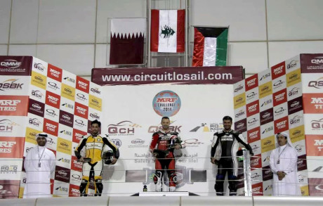 Mahmoud Tannir tops the podium in Qatar