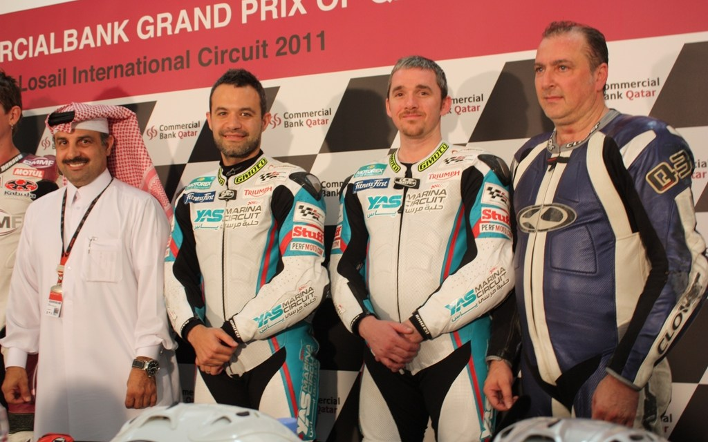 Moto GP: Yas Motorcycle Racing Team 'triumphant' in Qatar MotoGP support race for QMMF