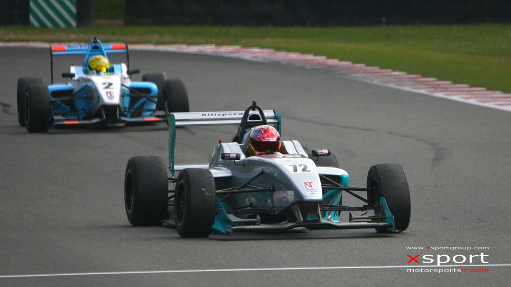 Formula 4: Hard lessons for Malaysian teenager Rahul Mayer at Brands Hatch