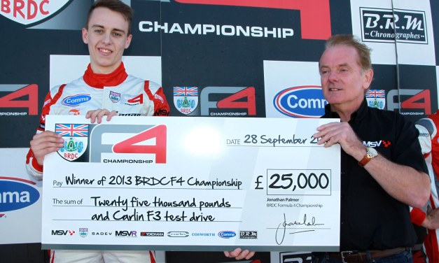 F4: Robertson does the double as Jake Hughes is confirmed F4 champion
