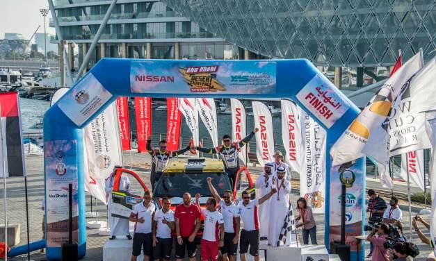Abu Dhabi: Prokop and Quintinalla celebrate victories in Desert Challenge