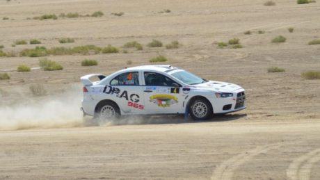 Meshari Al-Thefiri,  capped a memorable weekend with second overall and outright victory in the hard-fought MERC 2 category in his Mitsubishi Lancer Evolution X