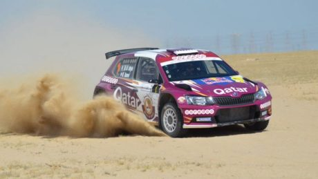 Nasser Saleh Al-Attiyah on a charge in Kuwait.