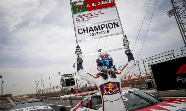 Bahrain: Omani teenager Al Zubair crowned Porsche GT3 Cup Challenge Middle East Season 9 champion