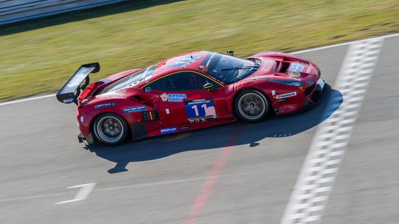 24H: Scuderia Praha Ferrari dominates the Hankook 24H BRNO