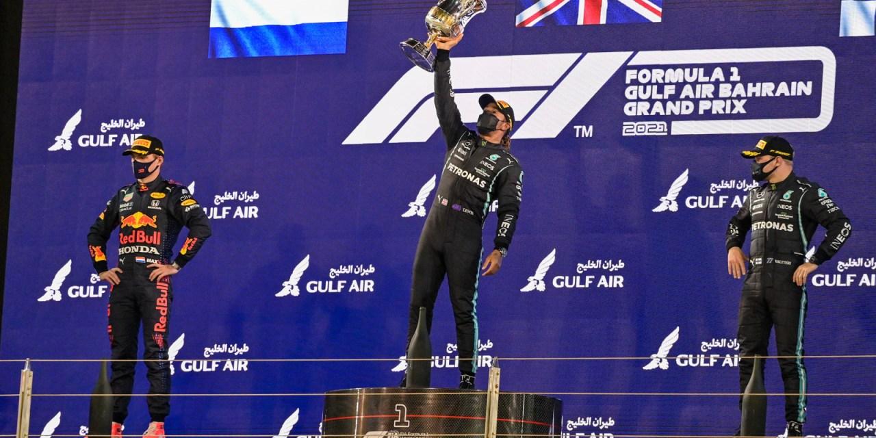 F1: Lewis Hamilton wins Bahrain GP nail-biter in2021Formula 1 season-opener at BIC