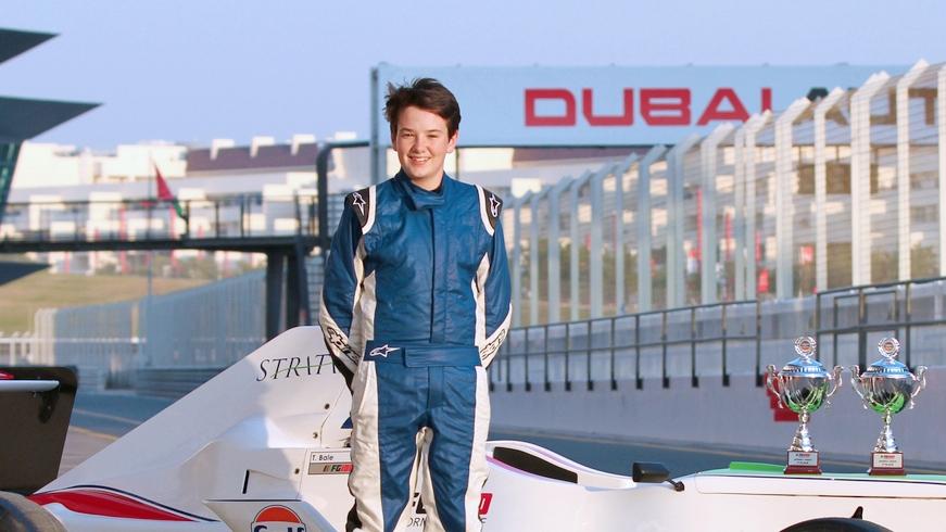 F4: Dubai's Formula Gulf Champion Tom Bale joins F4 with Chris Dittmann Racing