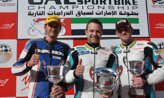 UAE: Double wins for Tannir and varied new format for GTs and Touring cars