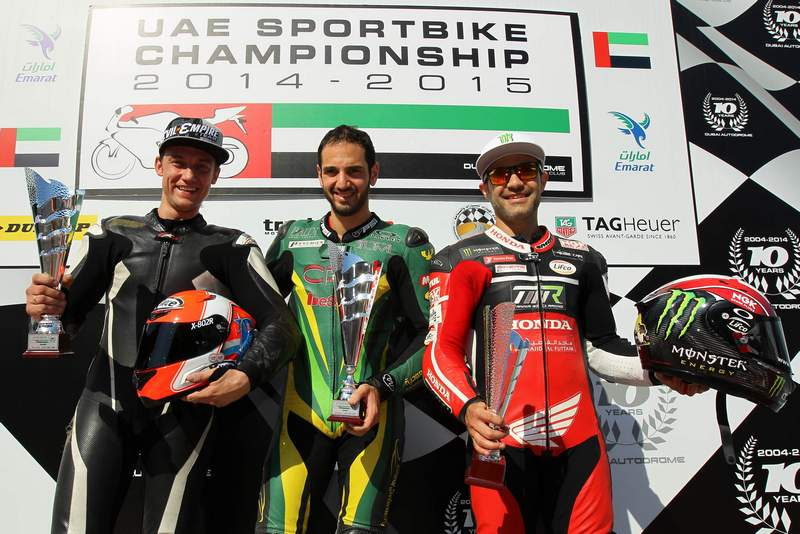 Dubai: First UAE national race day of the 2015 calendar opens with NGK Racing Series, UAE Sportsbikes and Formula Gulf 1000