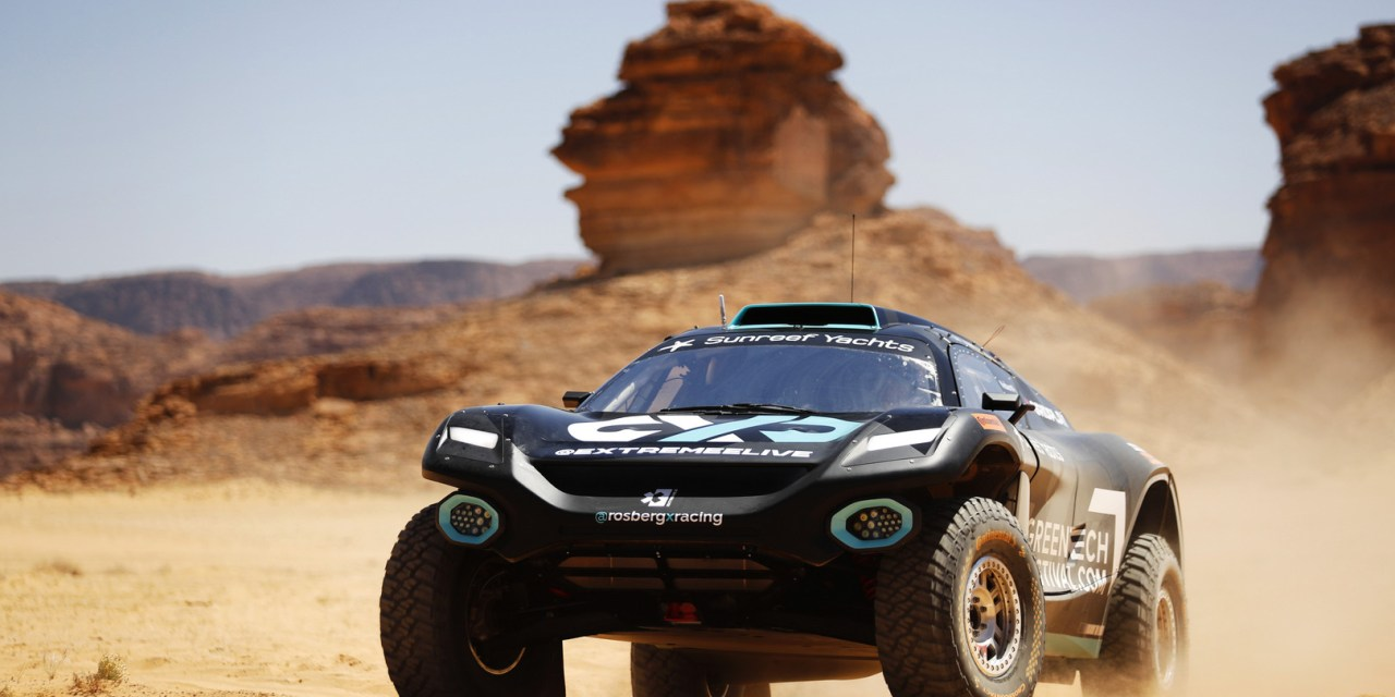 Extreme E inaugural 'Desert X Prix' kicks off in AlUla today as drivers shakedown in Saudi Arabia