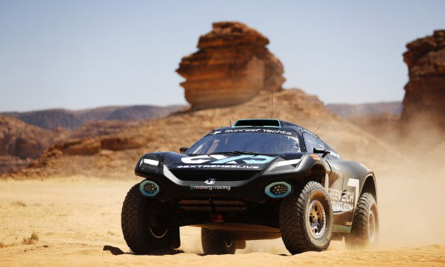 Extreme E inaugural 'Desert X Prix' kicks off in AlUla today as drivers shakedown in Saudi Arabia