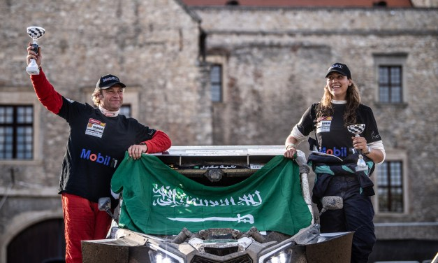 Saudi Arabia's Dania Akeel completes her first European Baja with a second place podium in Hungary