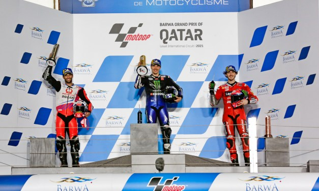 MotoGP: Vinales battles through to stunning victory as 2021 begins in style in Qatar