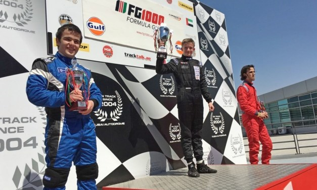Formula Gulf: Victories for young rookies Poulsen and Abdullayev in rounds 9 and 10