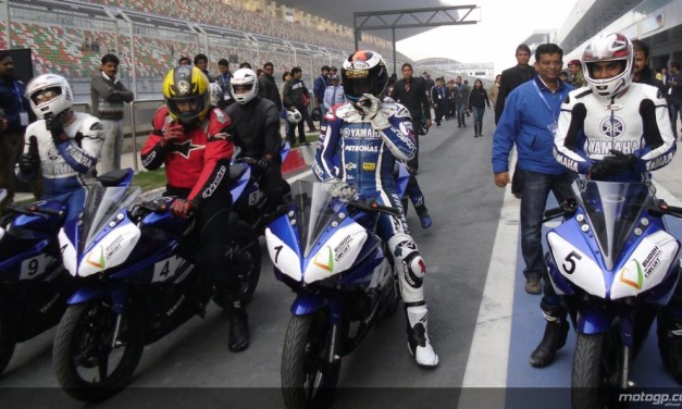 MotoGP: Yamaha's Jorge Lorenzo hits the track in New Delhi hoping for a GP race