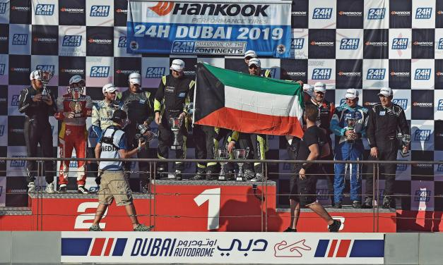 24H: Kuwait racing driver Khaled Al Mudhaf takes a second impressive career victory at Dubai 24H with Leipert Motorsports Lamborghini