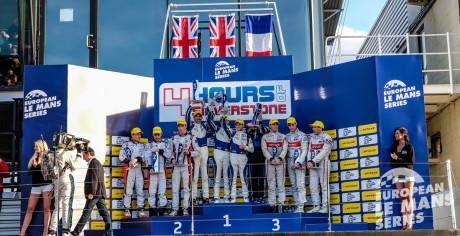 LMP2 Podium - ELMS 4 Hours of Silverstone