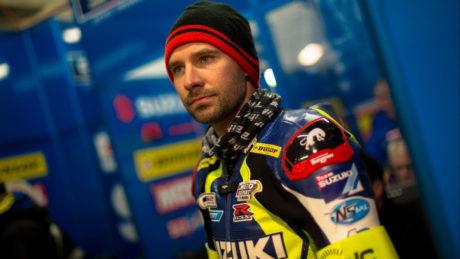 Anthony Delhalle of the Suzuki Endurance Racing Team (SERT)