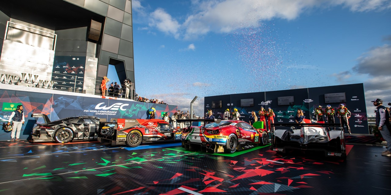WEC: Calado and Pier Guidi take well-judged win for AF Corse Ferrari in LMGTE Pro