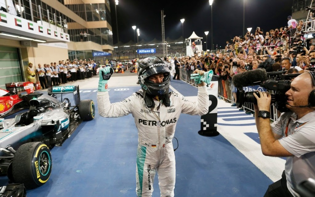 F1: Mercedes AMG driver Nico Rosberg crowned F1 World Champion in Abu Dhabi