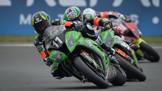 24h: Kawasaki clinch pole position for 24hr Moto's at Le Mans