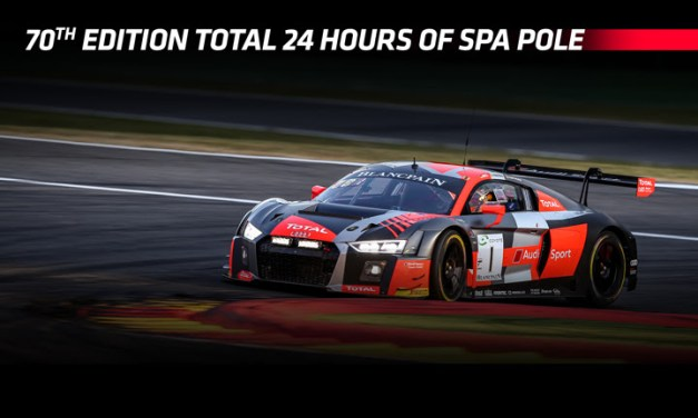 Spa 24H: Audi Sport Team WRT takes dominant pole for 70th edition Total 24 Hours of Spa