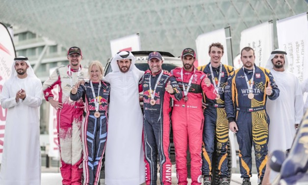 Rally: Abu Dhabi Desert Challenge celebrate victories at gala dinner and prize giving ceremony at Yas Marina Circuit