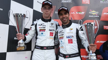 Ahmad Al Harthy and team-mate Daniel Lloyd