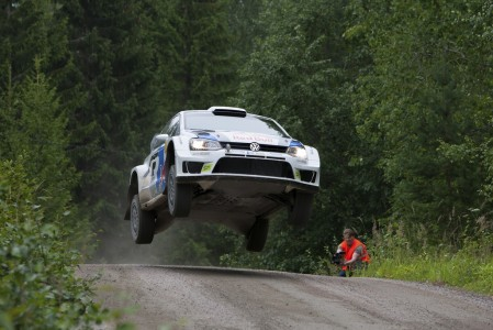 VW complete testing ahead of the next round of the WRC Rally Finland