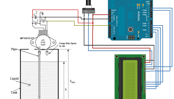 Arduino Pressure Measurement – BMP180 | Circuits4you com