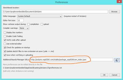 Preference JSON