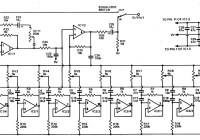 2x10 band graphic equalizer schematic