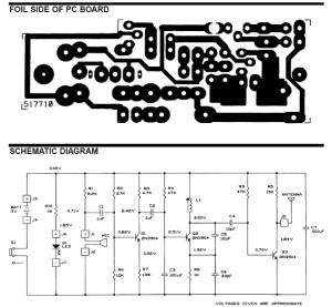 FM Wireless Microphone  Circuit Schematic