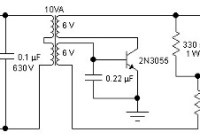 5W DC to AC Inverter Circuit Electronic