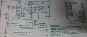 Active Tone Control circuit diagram