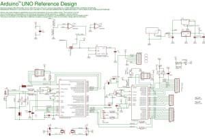 arduino uno schematic  Circuit Schematic