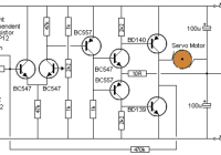 White line follower circuit electronic